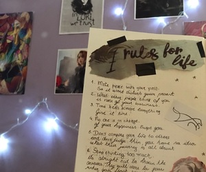 bedroom, bullet, and journal image
