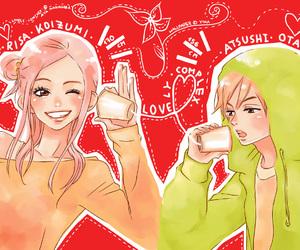 lovely complex, otani atsushi, and risa koizumi image