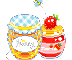 overlay, pixel art, and sticker image