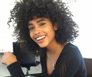 beauty, hair, and smile image