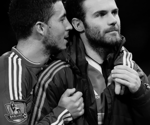 juan mata and eden hazard image