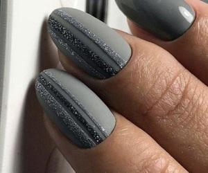 grey and nails image