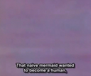 mermaid, grunge, and quotes image