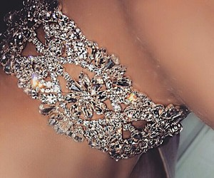 glam, jewery, and necklace image