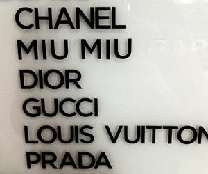 chanel, gucci, and dior image