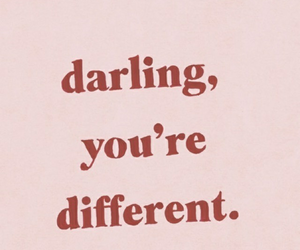 quotes, darling, and different image