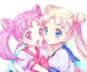 anime, sailor moon, and serena image