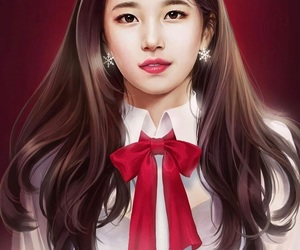 drawing, kpop, and wallpaper image