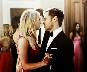 caroline, klaus, and tvd image