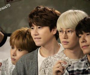 choi siwon, kyuhyun, and rye image