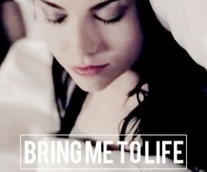 evanescence and bring me to life image