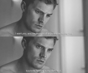 fifty shades of grey, quotes, and christian grey image