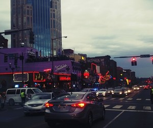 city, lights, and tennessee image