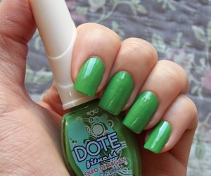 fitness, nail polish, and green image