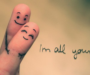love and fingers image
