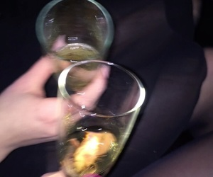 birthday, champagner, and drunk image