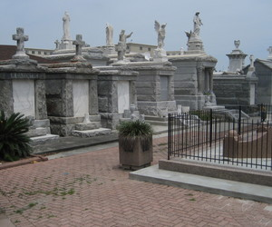 new orleans, saint louis cemetery, and usa image