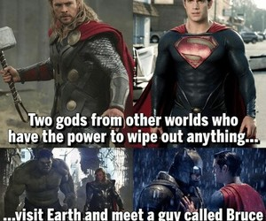 batman, Marvel, and facts image