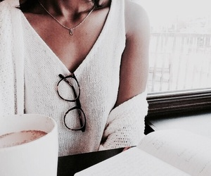 fashion, glasses, and indague image