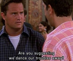 friends, funny, and dance image