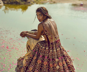 fashion, dress, and india image