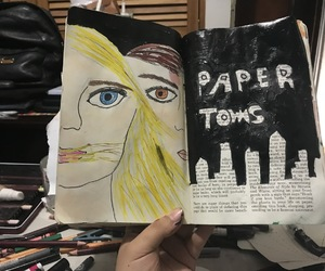 art, artistic, and Paper image
