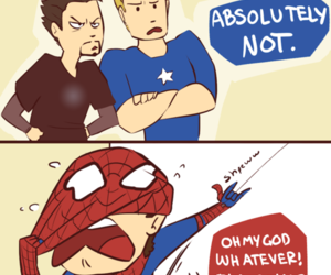 spiderman, Avengers, and captain america image