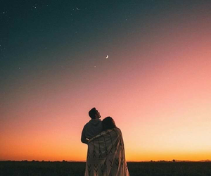 couple, photography, and sky image
