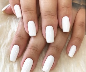 nails, pretty, and simple image