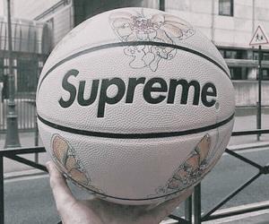 supreme, theme, and Basketball image