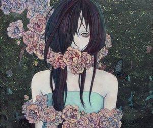 art, embrace, and pastel image