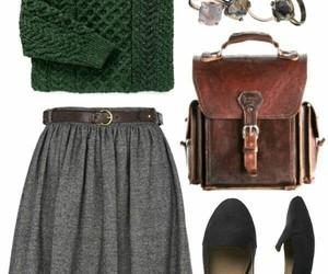 bag, moda, and school image