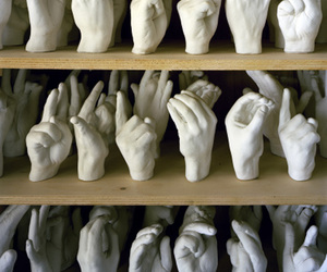 fingers, hands, and shelves image