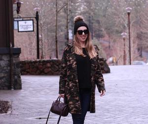 camo, fashion, and winter image