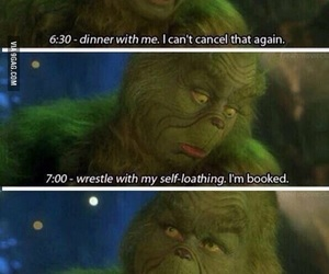 grinch, funny, and the grinch image