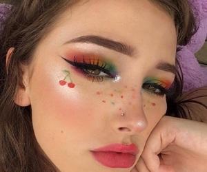 aesthetic, cherries, and indie image