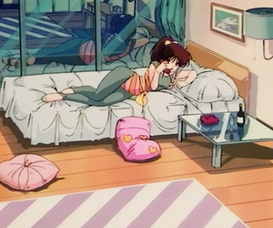 anime, 80s, and aesthetic image