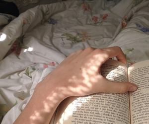 books, hands, and indie image