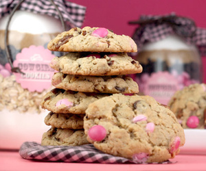 Cookies, pink, and food image