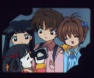 90s, anime, and sakura card captor image