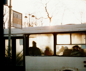 bus, indie, and vintage image