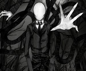 slenderman, slender, and creepypasta image