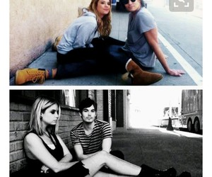 haleb, ashley benson, and pll image