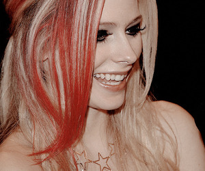 Avril Lavigne, beautiful, and makeup image