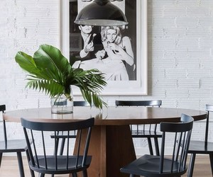 conversion, dining room, and eclectic image