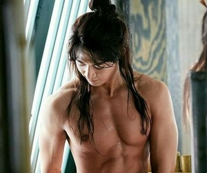 abs, kpop, and asian image
