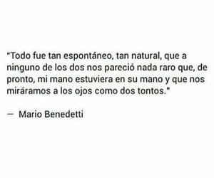 love, mario benedetti, and books image
