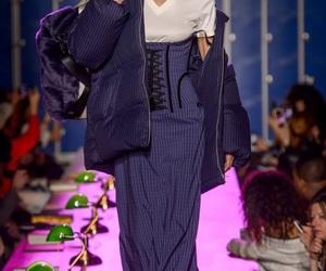blue, rihanna, and fashion image
