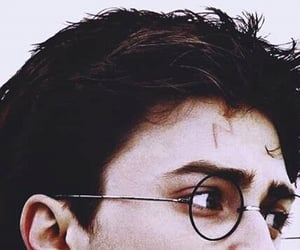 harry potter, scar, and aesthetic image