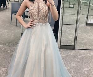 dress, elegant, and fancy image